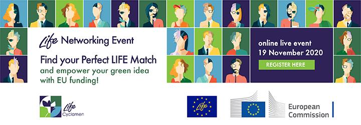 LIFE networking event (19 novembre 2020)