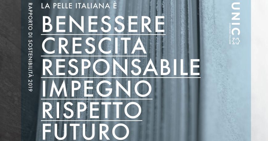 Rapporto di Sostenibilità dell'industria conciaria italiana