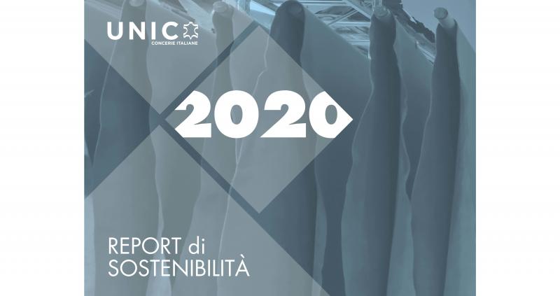 Report di sostenibilità 2020 dell'industria della pelle italiana